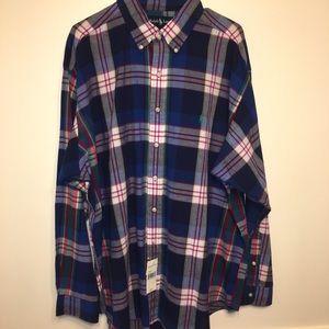 """Ralph Lauren """"Blake"""" Button Down Plaid Shirt"""